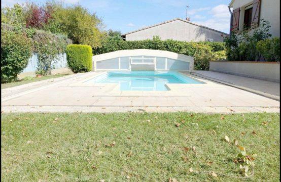 VENDU PIBRAC Maison T5 de 140 m² sur 728 m² avec piscine