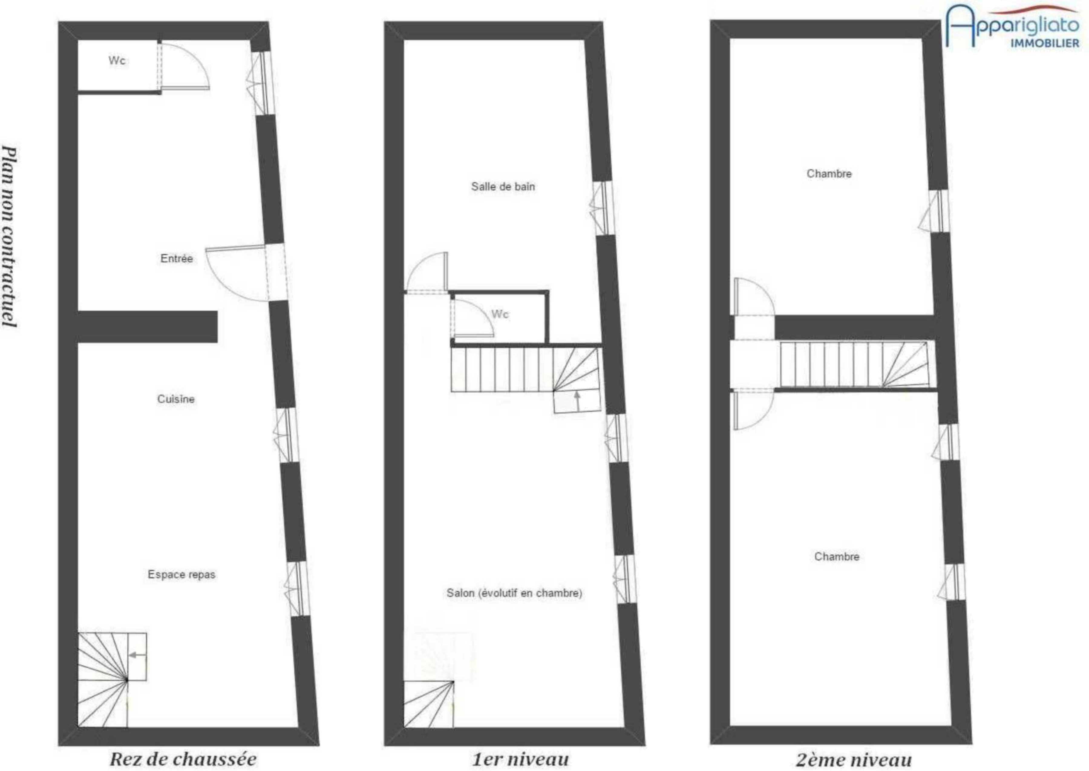 Vente Maison T4 Blagnac Centre Plan Agence Immobili 232 Re