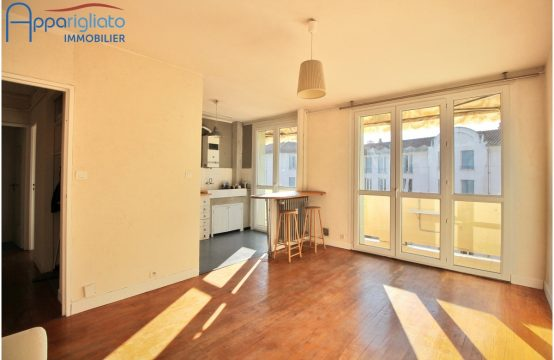 SOLD! TOULOUSE T2 métro Saint Agne with Balcony