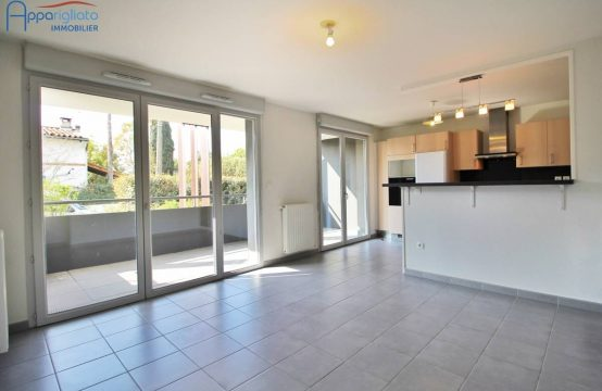 SALE BLAGNAC Center T3 with Terrace and 2 Garages