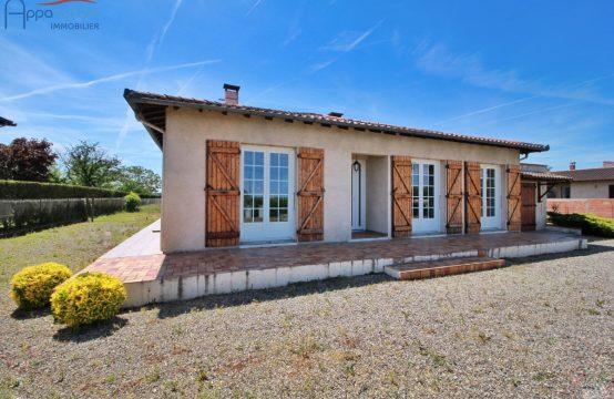 VENTE CORNEBARRIEU Maison T4 plain-pied avec Garage et Buanderie sur 3500 m²