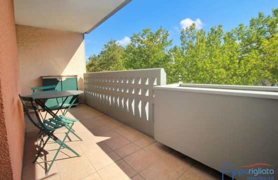VENDU! EXCLUSIVITÉ BLAGNAC Grand T2 de 63 m², Balcon de 8 m² et Cave