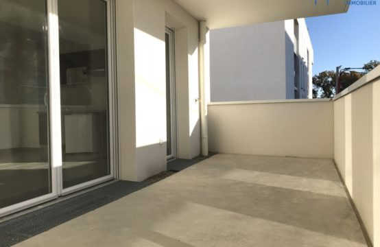 LOUÉ! BLAGNAC T2 neuf avec Terrasse & Parking sous sol