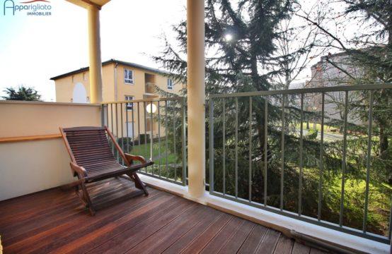 VENDU EXCLUSIVITÉ BLAGNAC Centre Joli T4 de 81,25 m² + Balcon & Parking