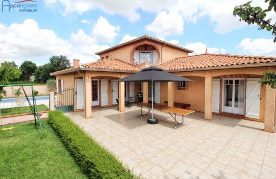 EXCLUSIVITÉ VENTE MURET Maison T8 de 200 m² Garage Piscine sur 1260 m²