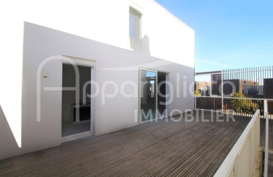 VENDU! BEAUZELLE T4 Duplex, Terrasse 45 m², Garage & Parking