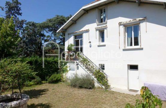 A LOUER TOULOUSE Lardenne Maison T4 Années 1930 avec Garage et Jardin