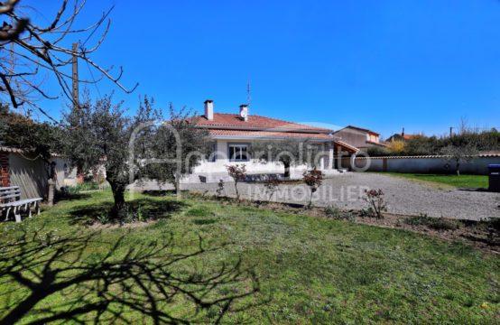 EXCLUSIVITE VENTE TOURNEFEUILLE Maison Plain Pied 125 m² pour habitation ou Profession libérale