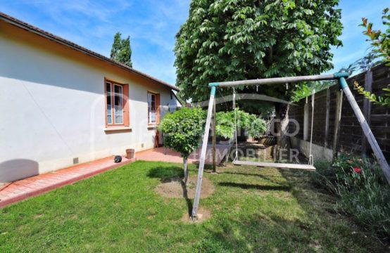 VENDU! EXCLUSIVITÉ BLAGNAC Maison T4 Plain Pied avec Garage & Atelier sur 495 m²