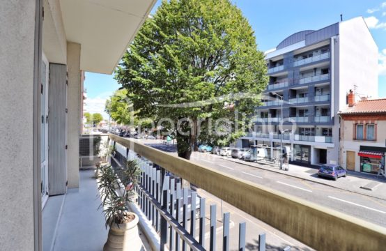 VENDU! EXCLUSIVITÉ TOULOUSE Métro Saint Agne T3 Traversant de 70 m² Balcons Cave Ascenseur