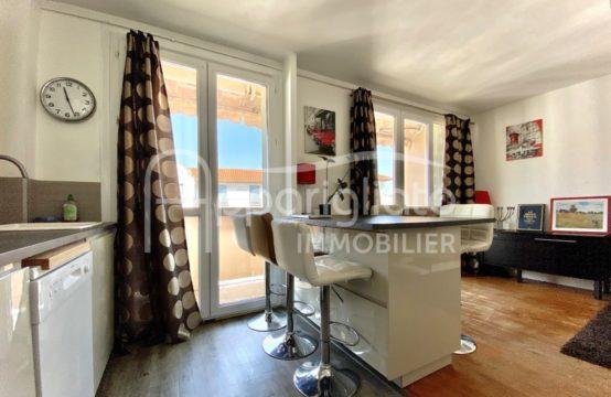 VENTE TOULOUSE Métro Saint Agne T2 Dernier étage avec Balcon