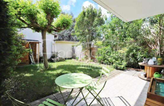 VENTE BLAGNAC Servanty Compans Grand T3 avec Terrasse couverte Jardin et 2 Parkings