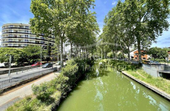 SOUS COMPROMIS EXCLUSIVITÉ VENTE TOULOUSE Métro Saouzelong T1 de 26 m² avec Terrasse et Parking