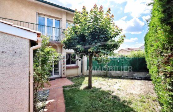 EXCLUSIVITÉ VENTE BLAGNAC Les Prés Maison T4 T5 de 121 m² avec Jardin Calme Absolu