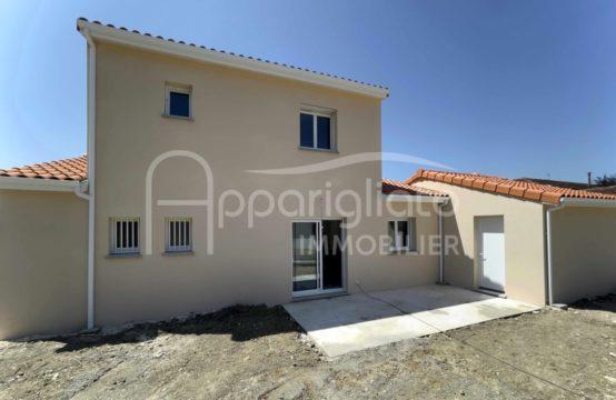 EXCLUSIVITÉ LOUÉ BEAUZELLE Maison T5 neuve de 118 m² + Garage sur 520 m²