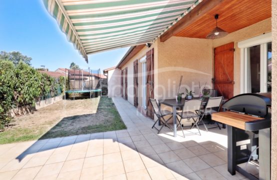 EXCLUSIVITÉ VENTE BLAGNAC Maison Plain T5 Plain-Pied de 126 m² + Garage double sur parcelle 375 m²